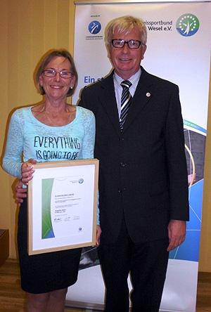 KSB-Ehrenamtspreis für Angelika Glanz