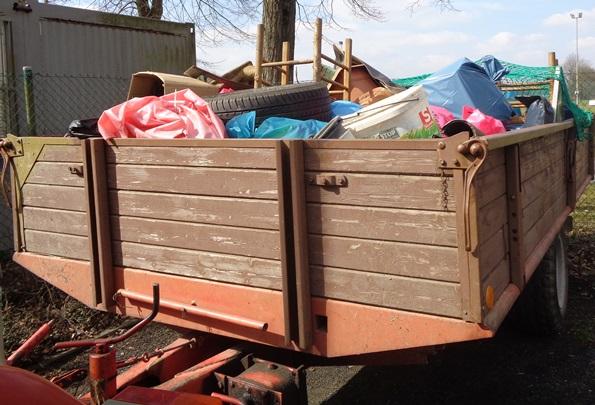 Müllsammelaktion ist am 30. März