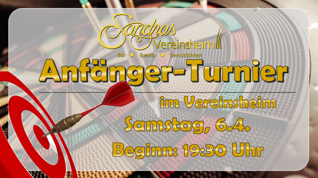 Anfänger- und Freizeitturnier | Sa. 6.4.19