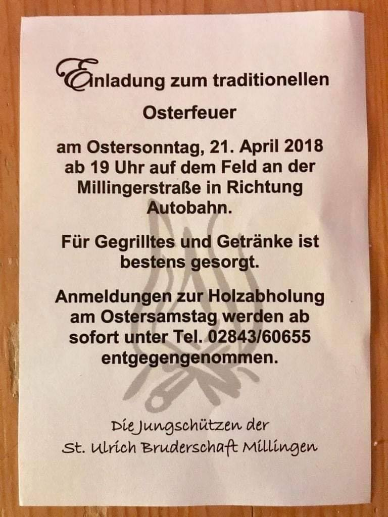 Osterfeuer 2019 | 21. April