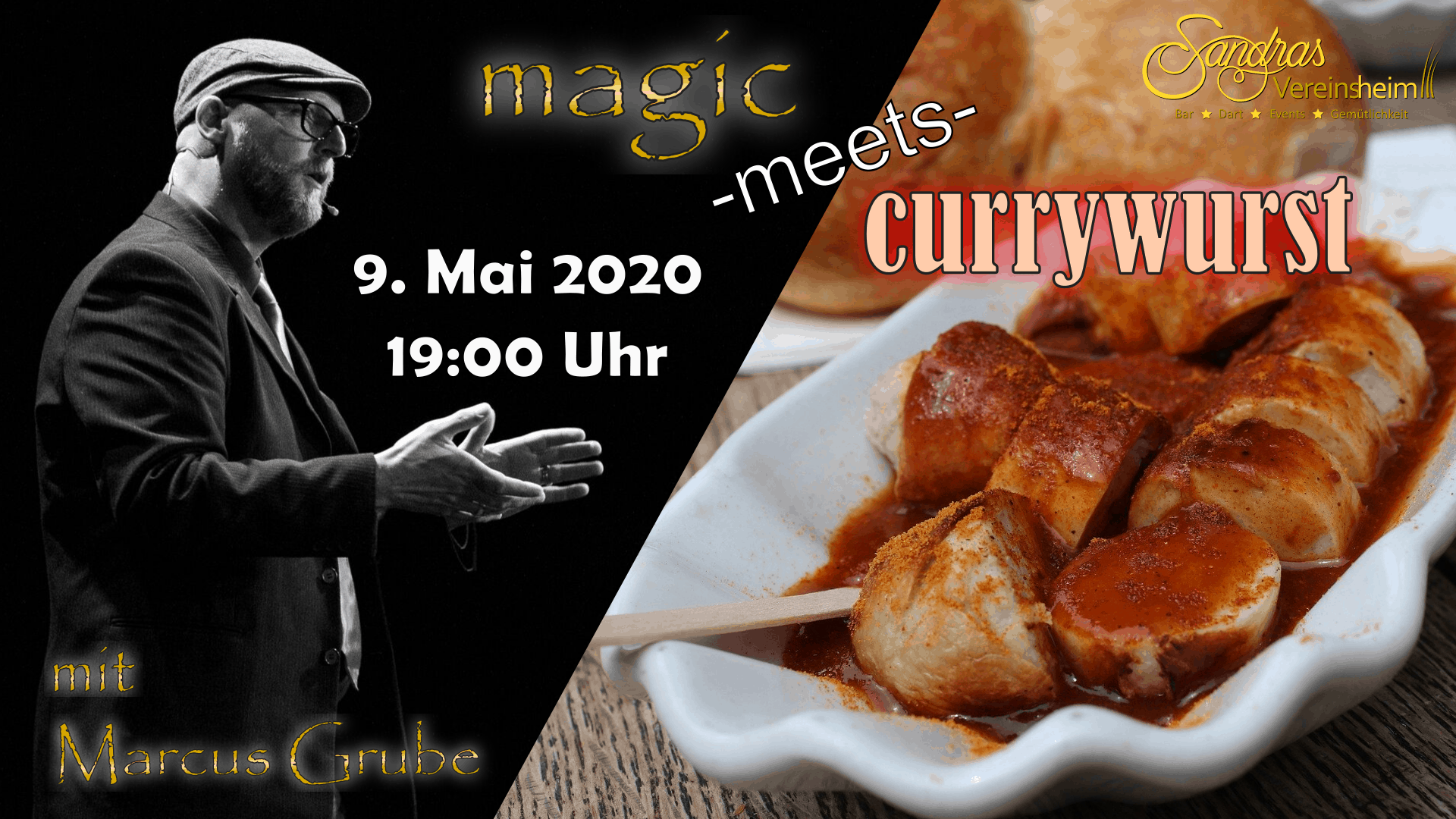 magic meets currywurst
